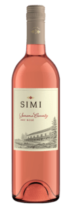 One of many wonderful dry rosés from Sonoma County